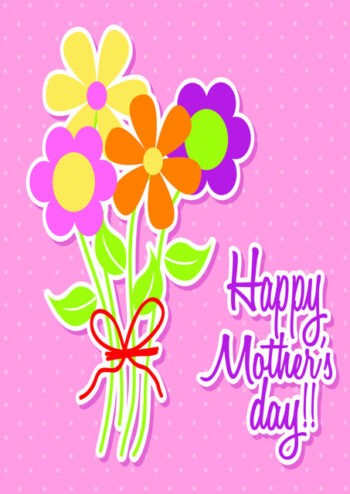 Bouquet of flowers Happy Mother's Day