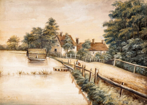 Cottages by the river